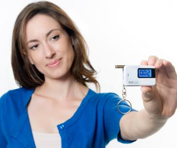 GO Keychain Breathalyser